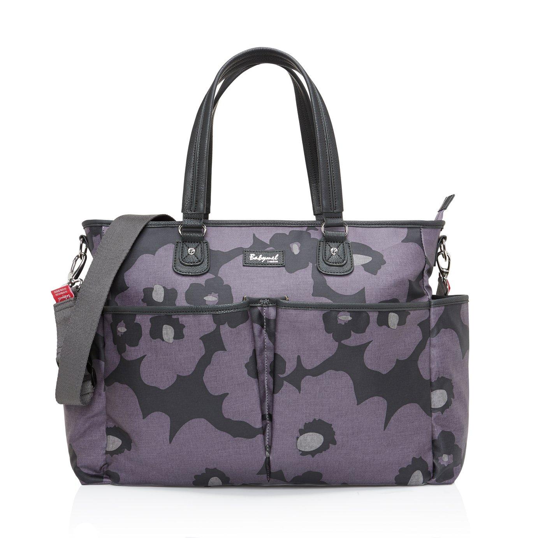 Babymel Bella Changing Bag - Floral Grey