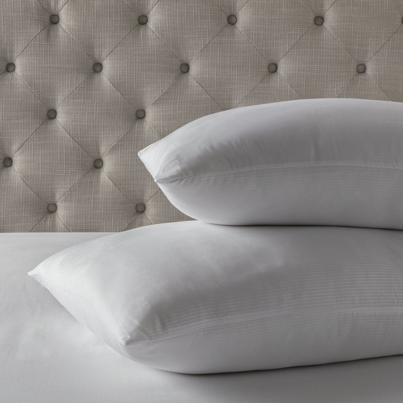 Forty Winks Anti-Allergy Firm Pillow - 2 Pack