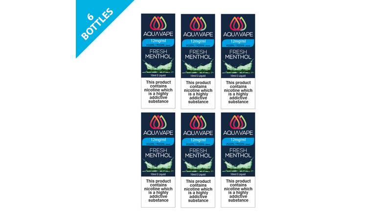 Aquavape Fresh Menthol 12mg 6 Pack