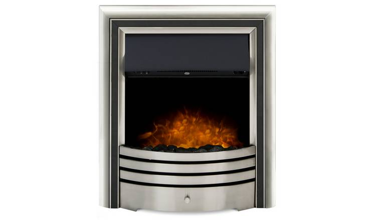 Adam Astralis 6 in 1 Electric Inset Fire – Chrome