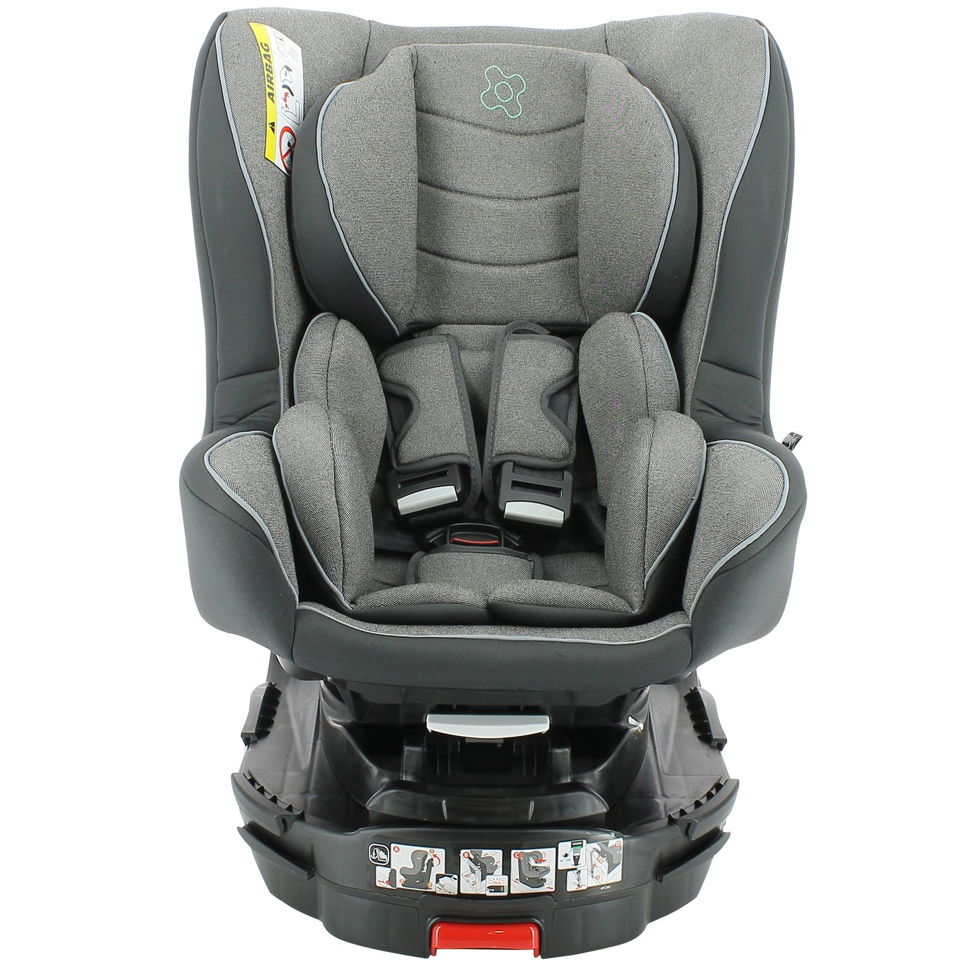 Migo Titan Platinum Group 0+/1 ISOFIX Car Seat - Grey