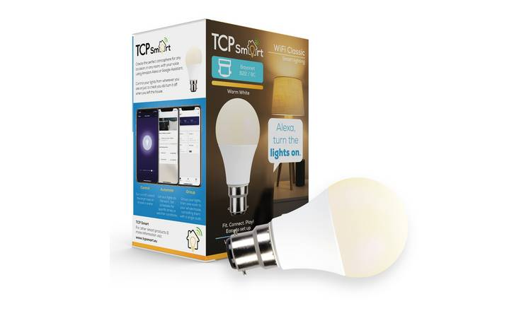 TCP B22 Smart Wi-Fi LED Classic Dimmable Bulb - White