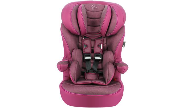 Myla Gro Seille Platinum Group 1/2/3 ISOFIX Car Seat - Plum