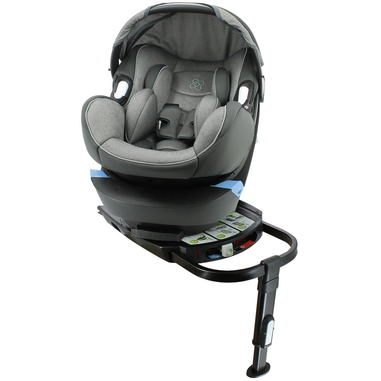 Migo Satellite Group 0+ ISOFIX Platimum Car Seat - Grey