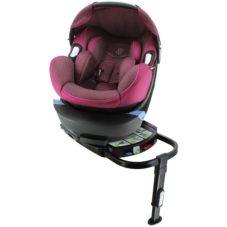 Migo Satellite Group 0+ ISOFIX Platimum Baby Car Seat - Plum