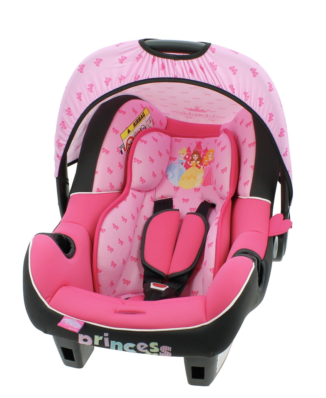 Disney Princess Beone Group 0+ Baby Carrier - Pink