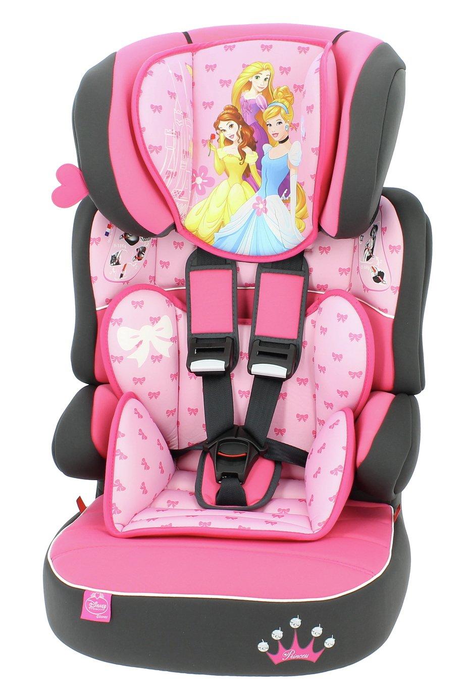 Disney Princess Beline SP LX Group 1/2/3 Car Seat - Pink