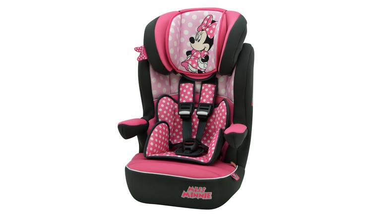 Disney Minnie Mouse IMAX SP Group 1/2/3 Car Seat - Pink