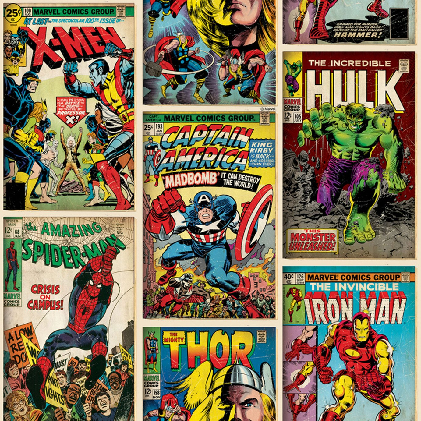 Marvel Action Heroes Wallpaper