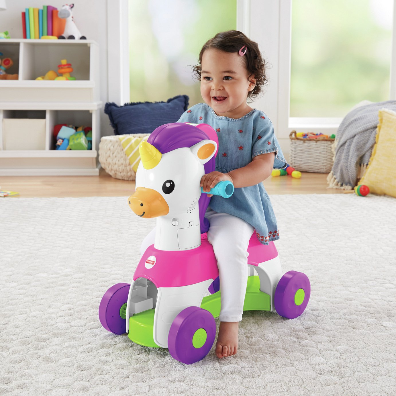 Fisher-Price  Rollin'  Tunes Unicorn