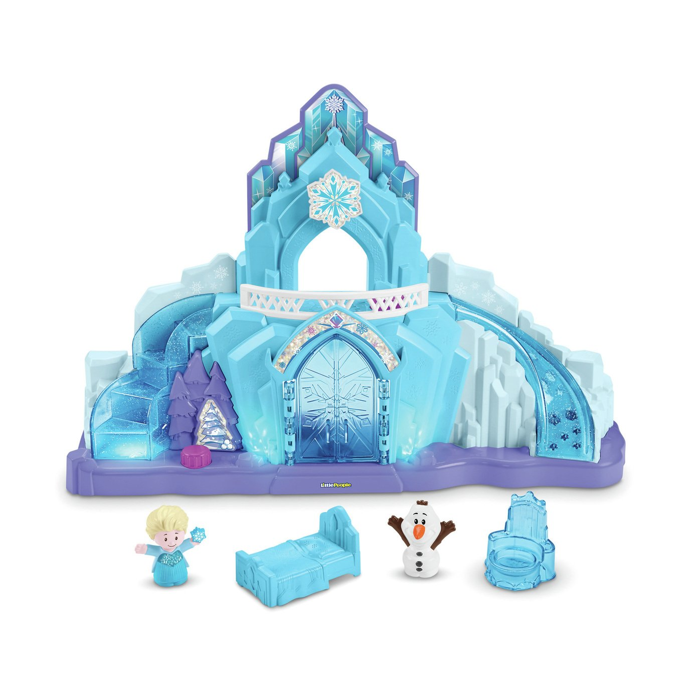 Fisher-Price World of Little People Elsa's Ice Castle