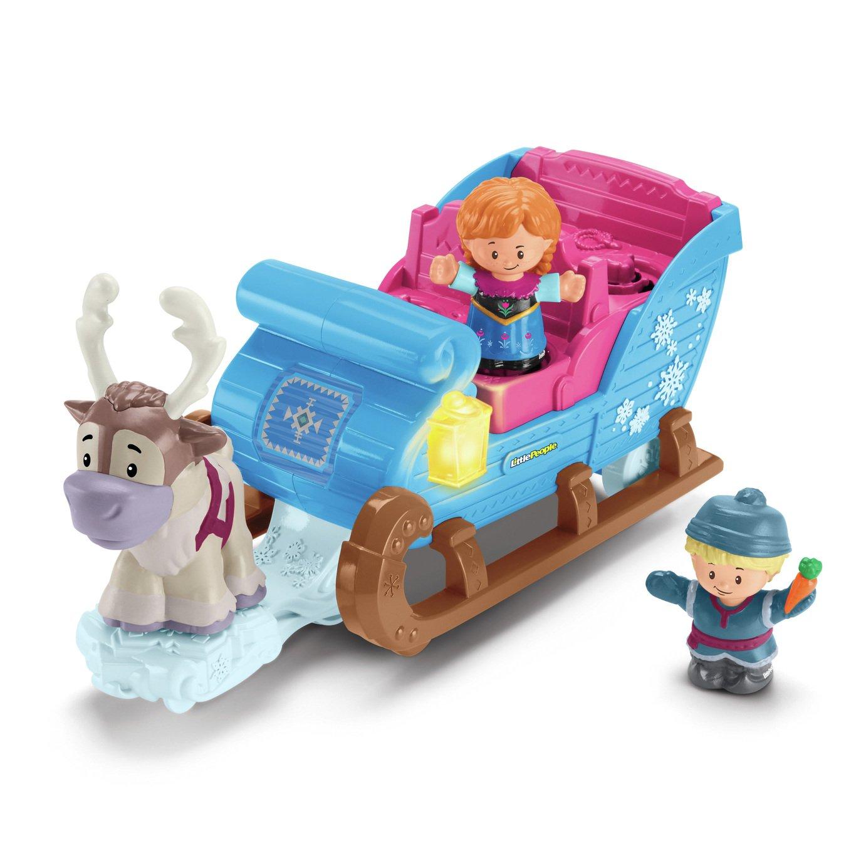 Fisher-Price World of Little People Frozen Kriostoffs Sleigh