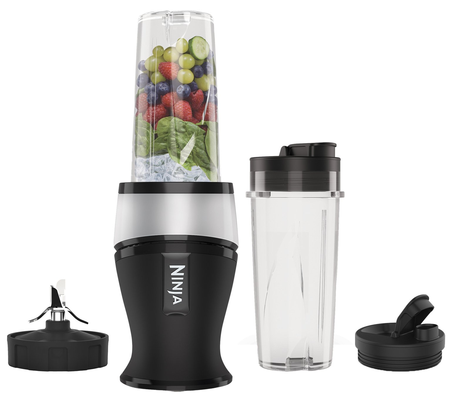 Ninja QB3001UKS Slim Blender and Smoothie Maker
