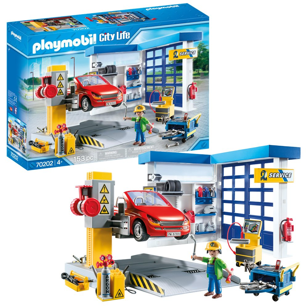 Playmobil 70202 City Life Repair Garage