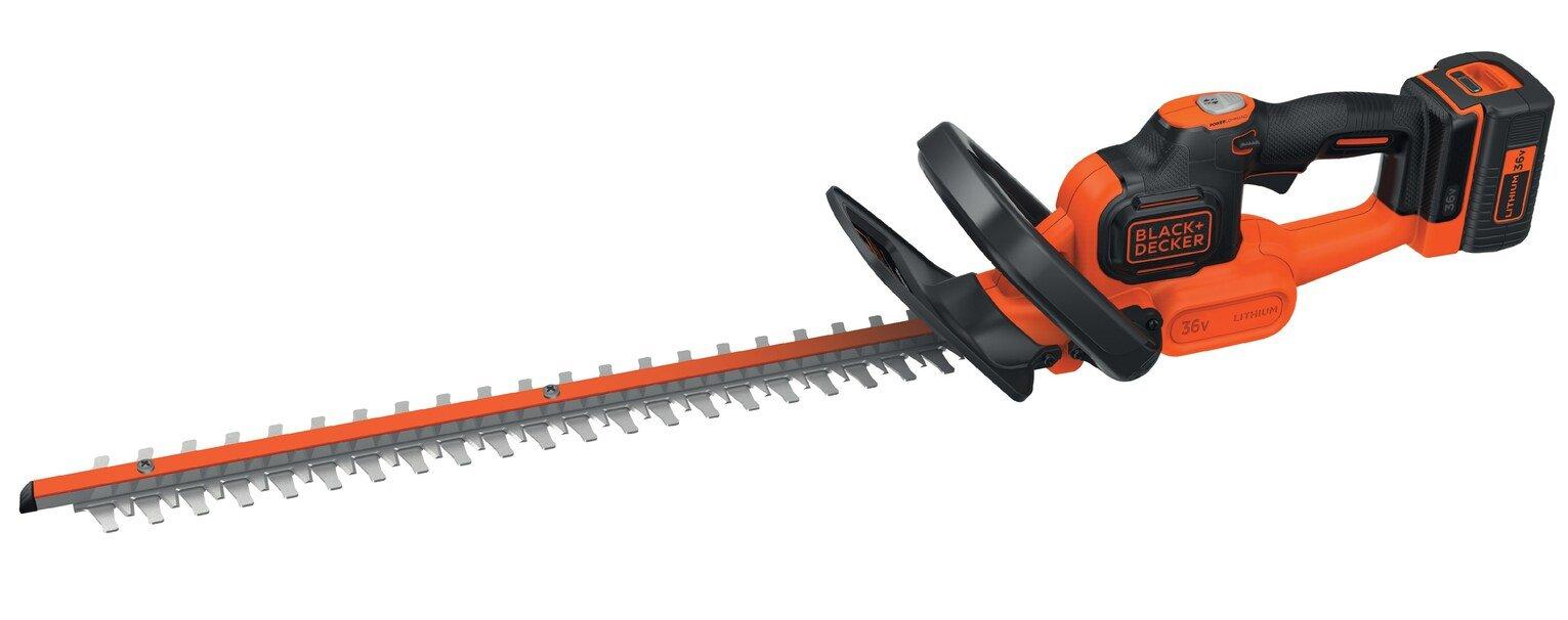 Black + Decker 55cm Cordless Hedge Trimmer - 36V
