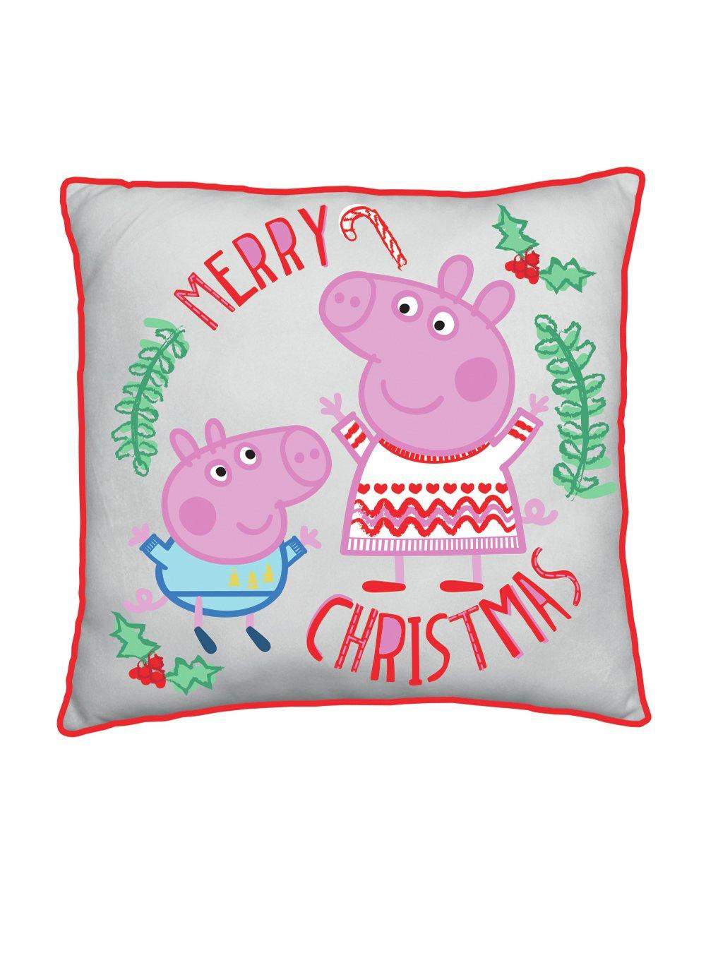 Peppa Pig How Many Sleeps Cushion
