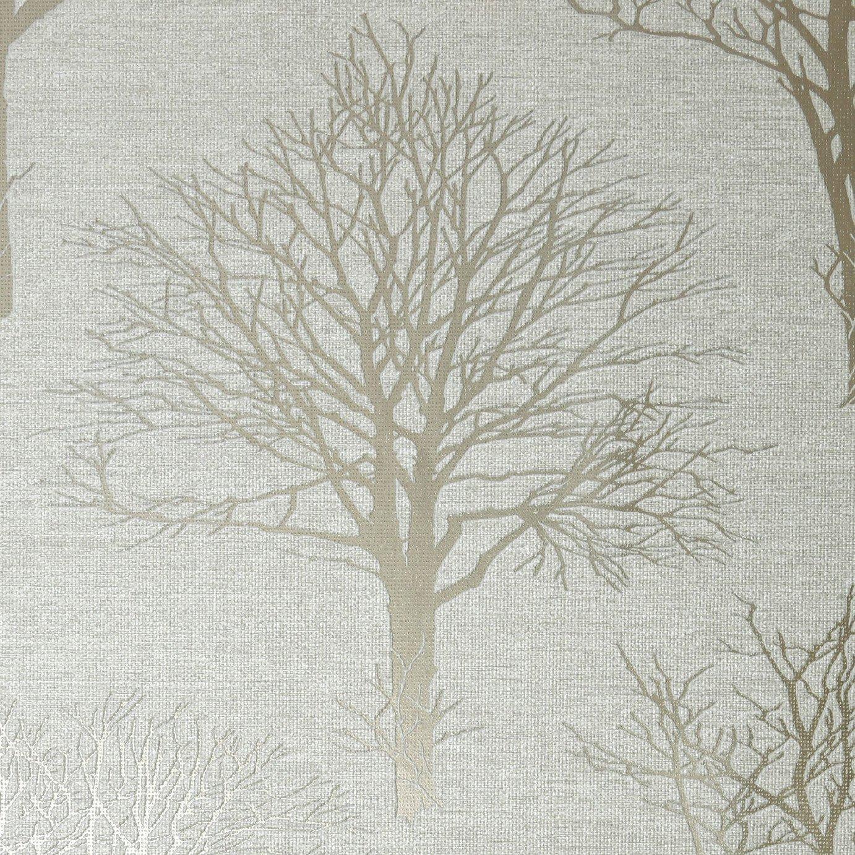 Boutique Landscape Ivory Wallpaper