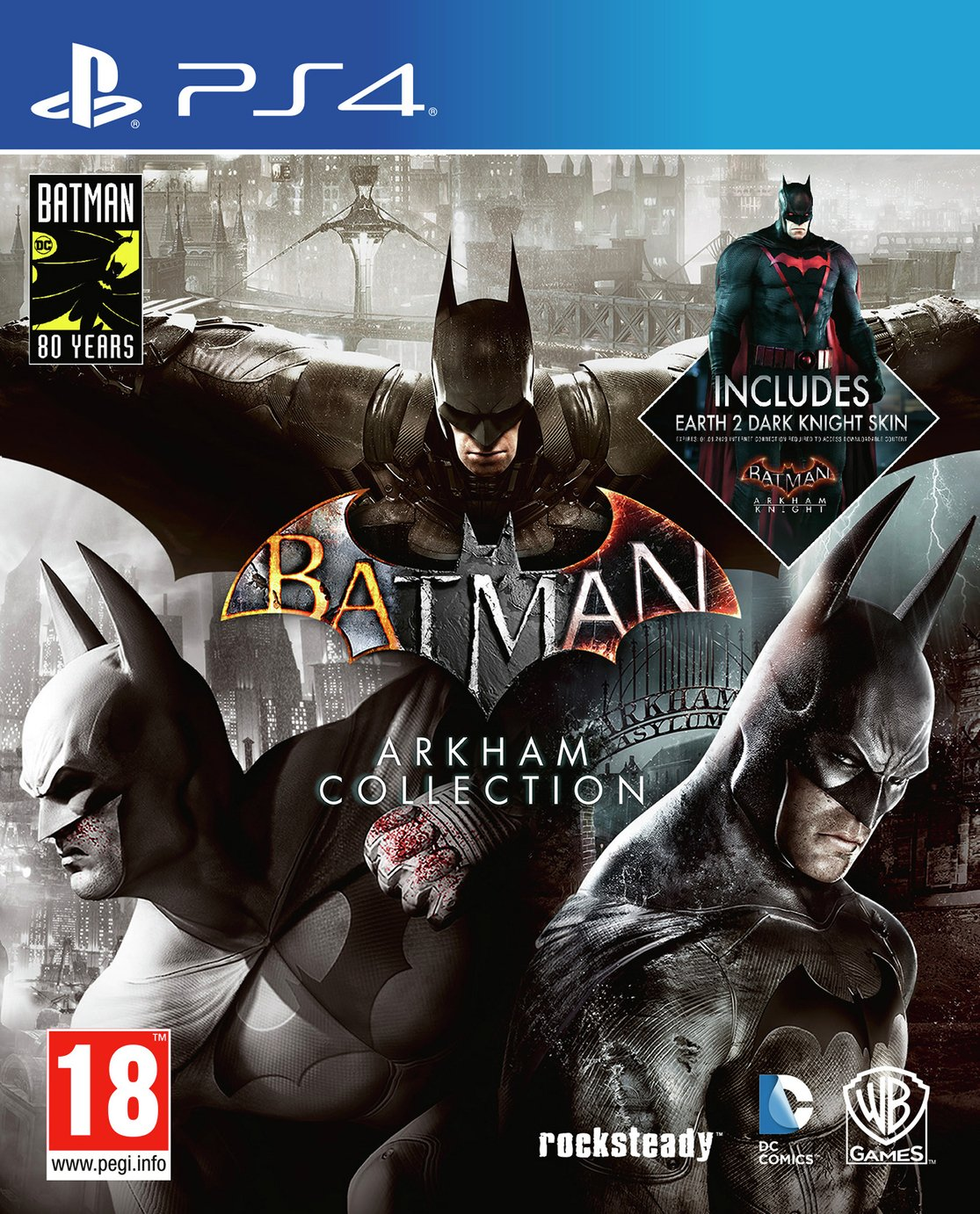 Batman Arkham Collection Steelbook Edn PS4 Pre-Order