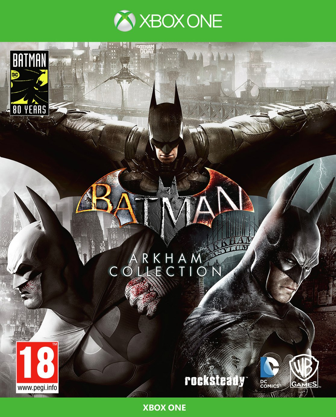 Batman Arkham Collection Steelbook Edn Xbox One Pre-Order