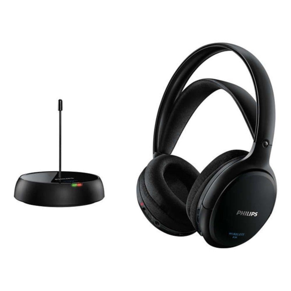 Philips SHC5200/05 Over-Ear Wireless Headphones - Black