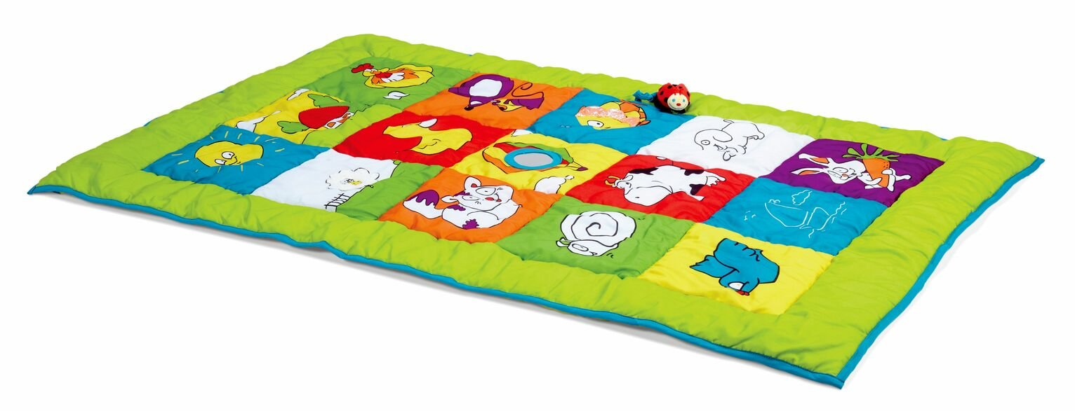 Edushape Double Sided Baby Mat