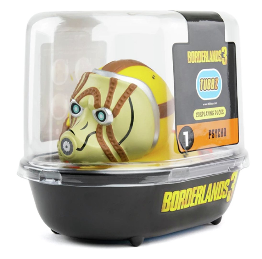 Tubbz Collectable Borderlands 3 Rubber Duck - Psycho