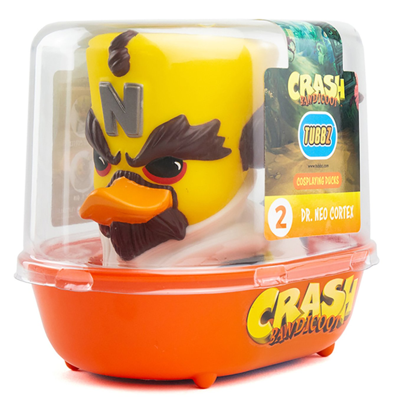 Tubbz Collectable Crash Bandicoot Rubber Duck - Dr Cortex