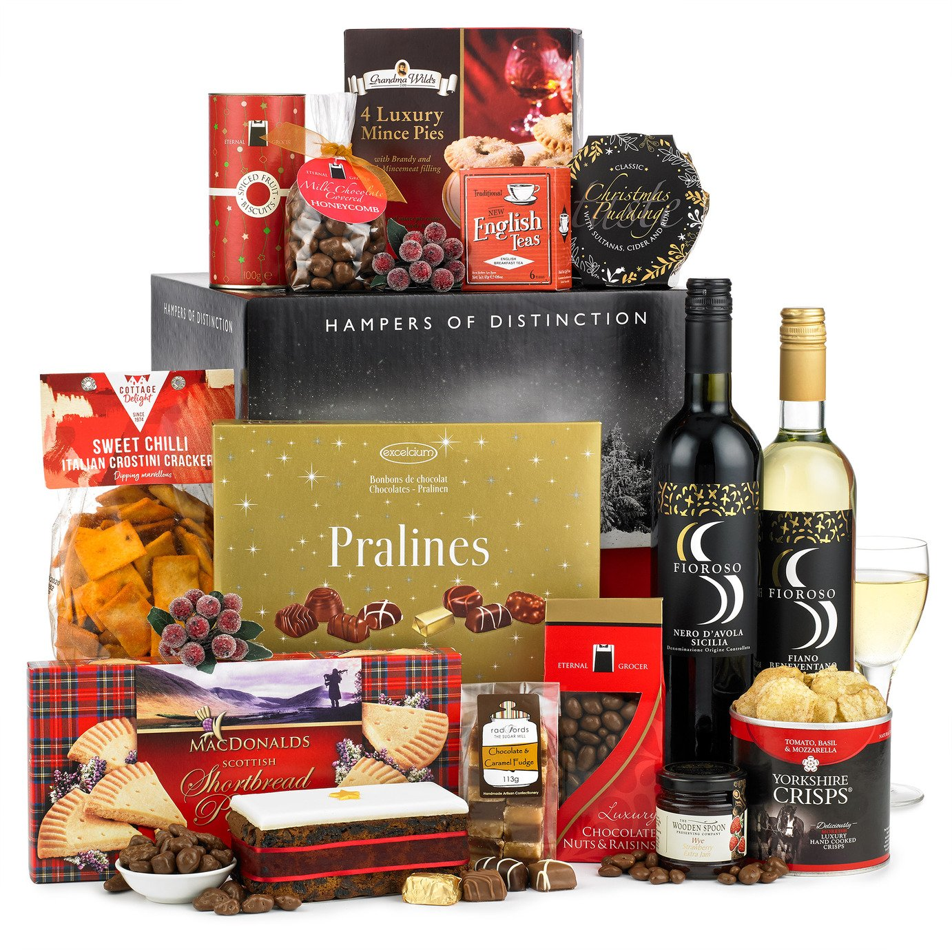 Hampers of Distinction Christmas Classic Gift Box