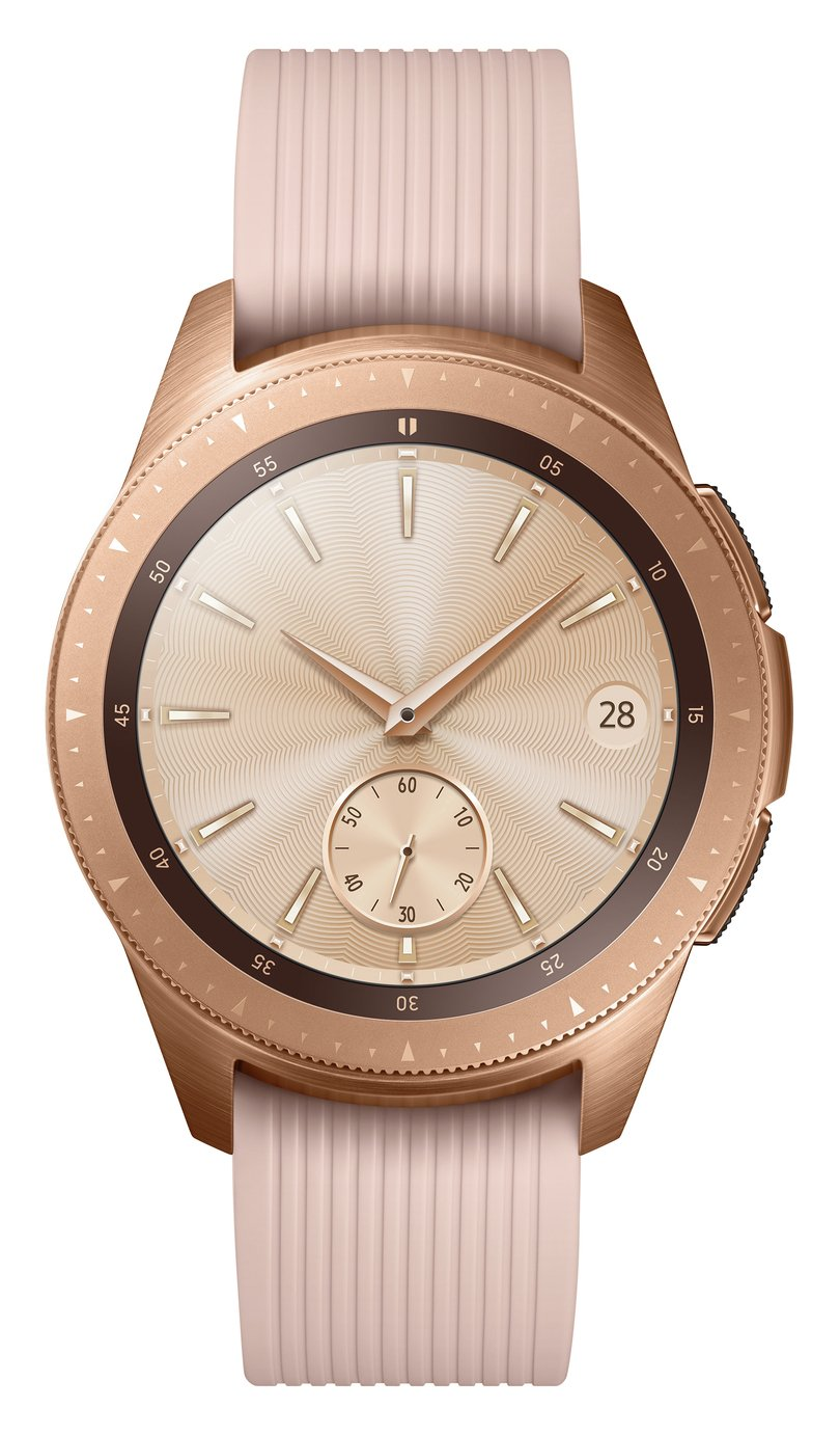 Samsung Galaxy Cellular 42mm Smart Watch - Rose Gold