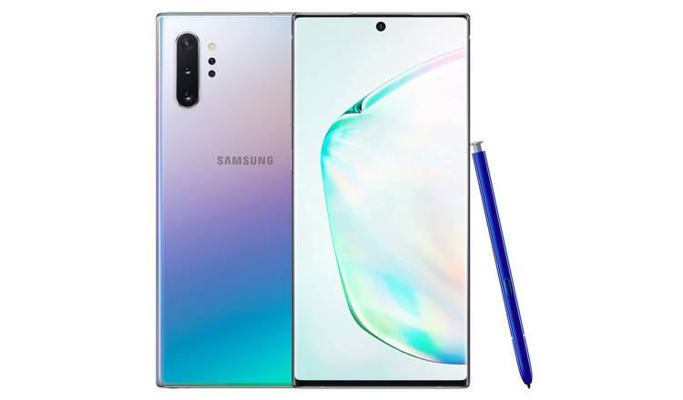 SIM Free Samsung Galaxy Note10+ 5G 256GB Mobile Phone –Glow