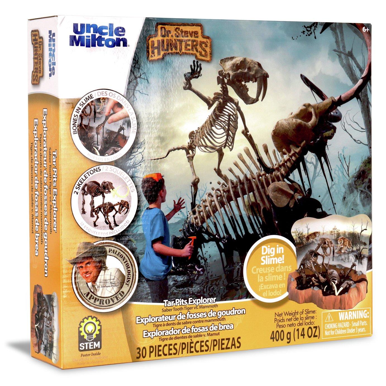 Dr Steve Hunters Tar Pit Tiger Mammoth