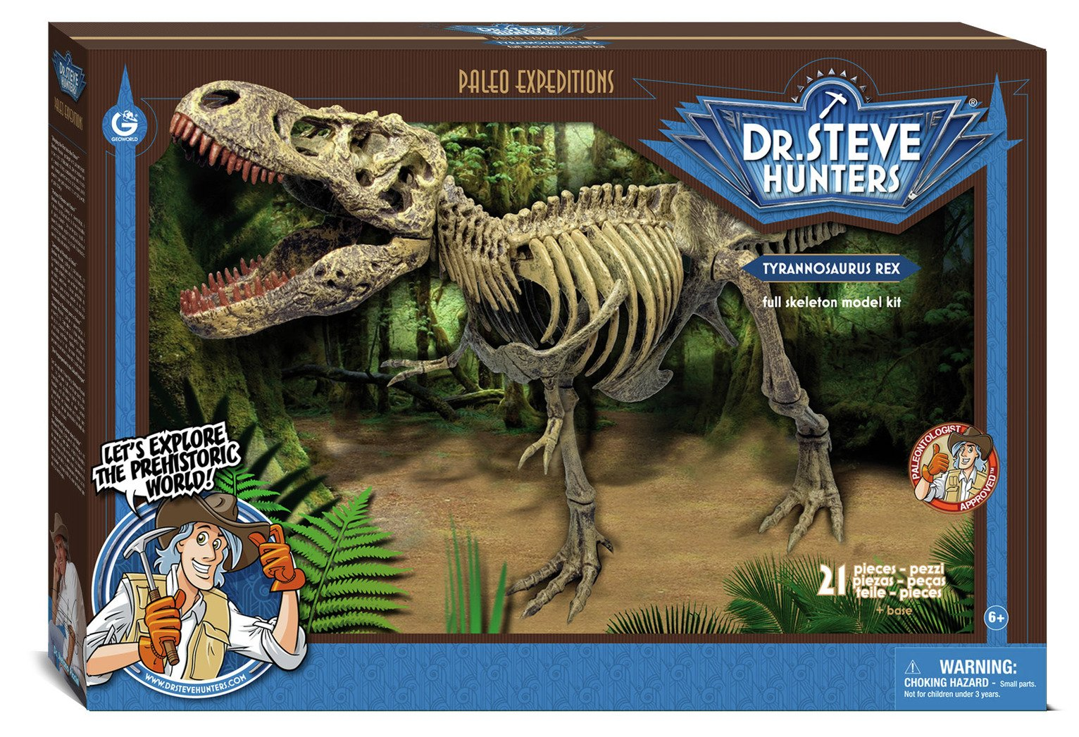 Dr Steve Hunters T-Rex E Model Kit