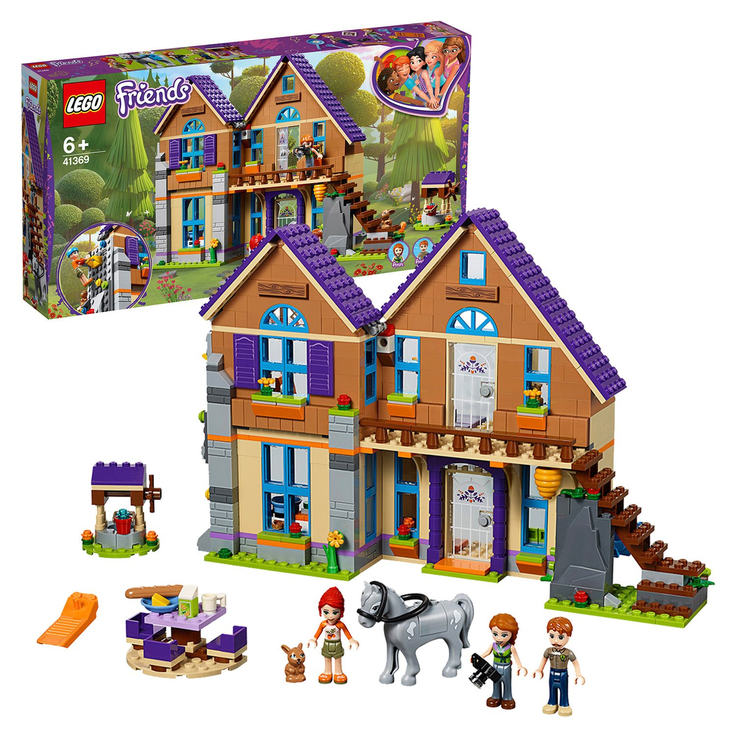 LEGO Friends Mia's Doll House Set - 41369