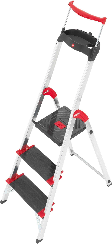 Hailo - XXR Championsline 3 Tread Stepladder lowest price