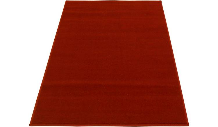 Maestro Plain Rug - 120x170cm - Red
