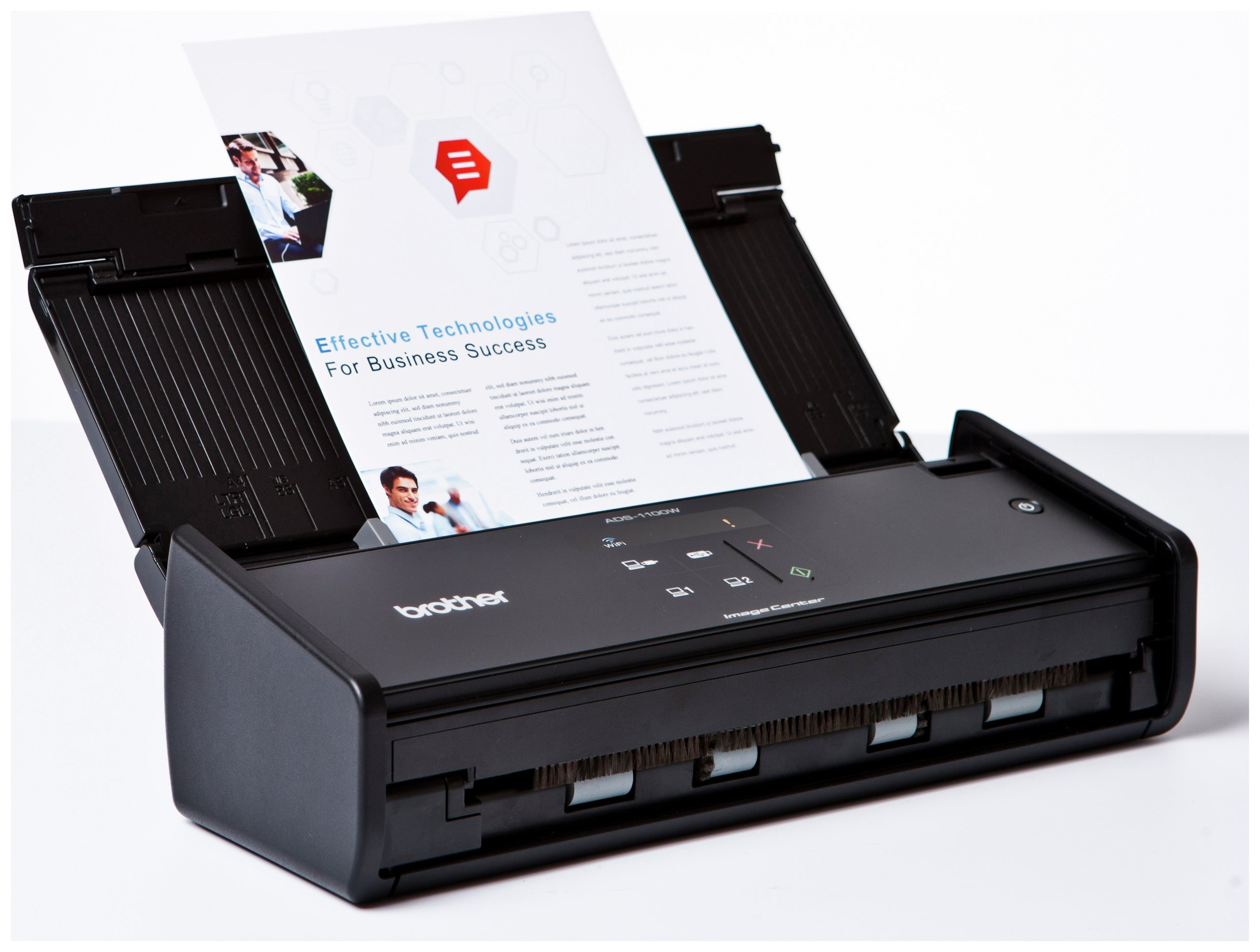Image of Brother - ADS1100 High Speed 2 Sided Document - Scanner