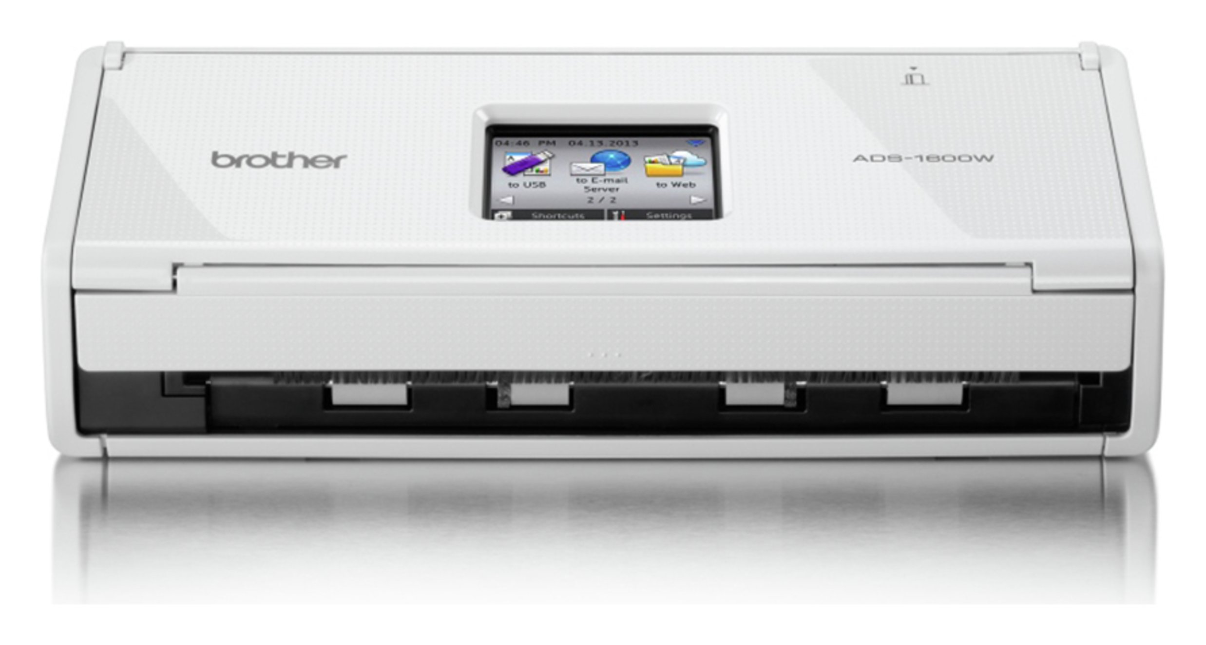 Image of Brother - ADS1600W Wireless Network Document - Scanner