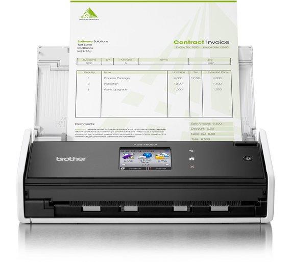 buy brother ads1600w wireless network document scanner at With wireless network document scanner