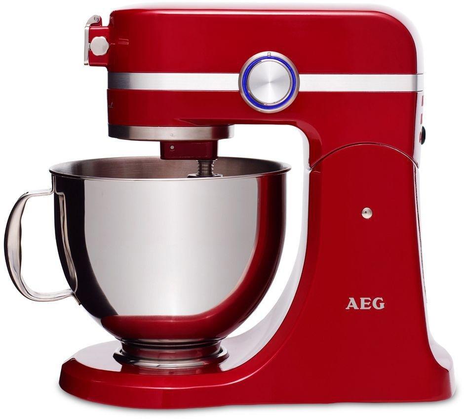 Image of AEG - KM4000 Ultramix - Kitchen Machine - Red
