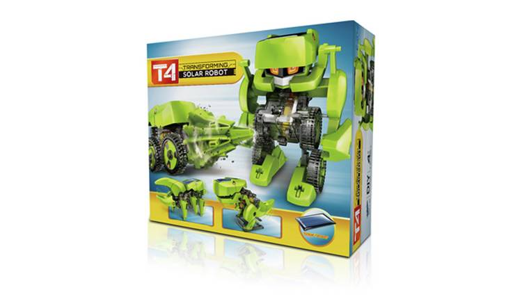 Construct & Create T4 Transforming Robot