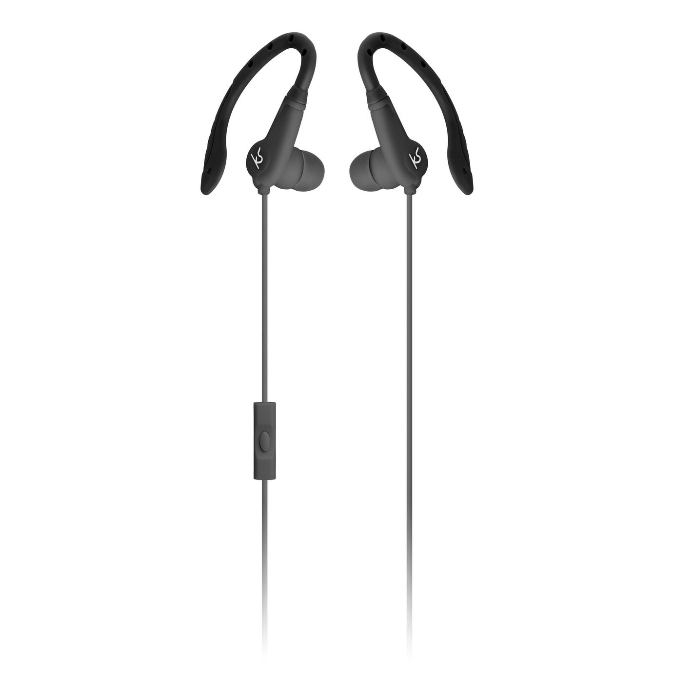 Kitsound Exert Sport In-Ear Headphones - Black