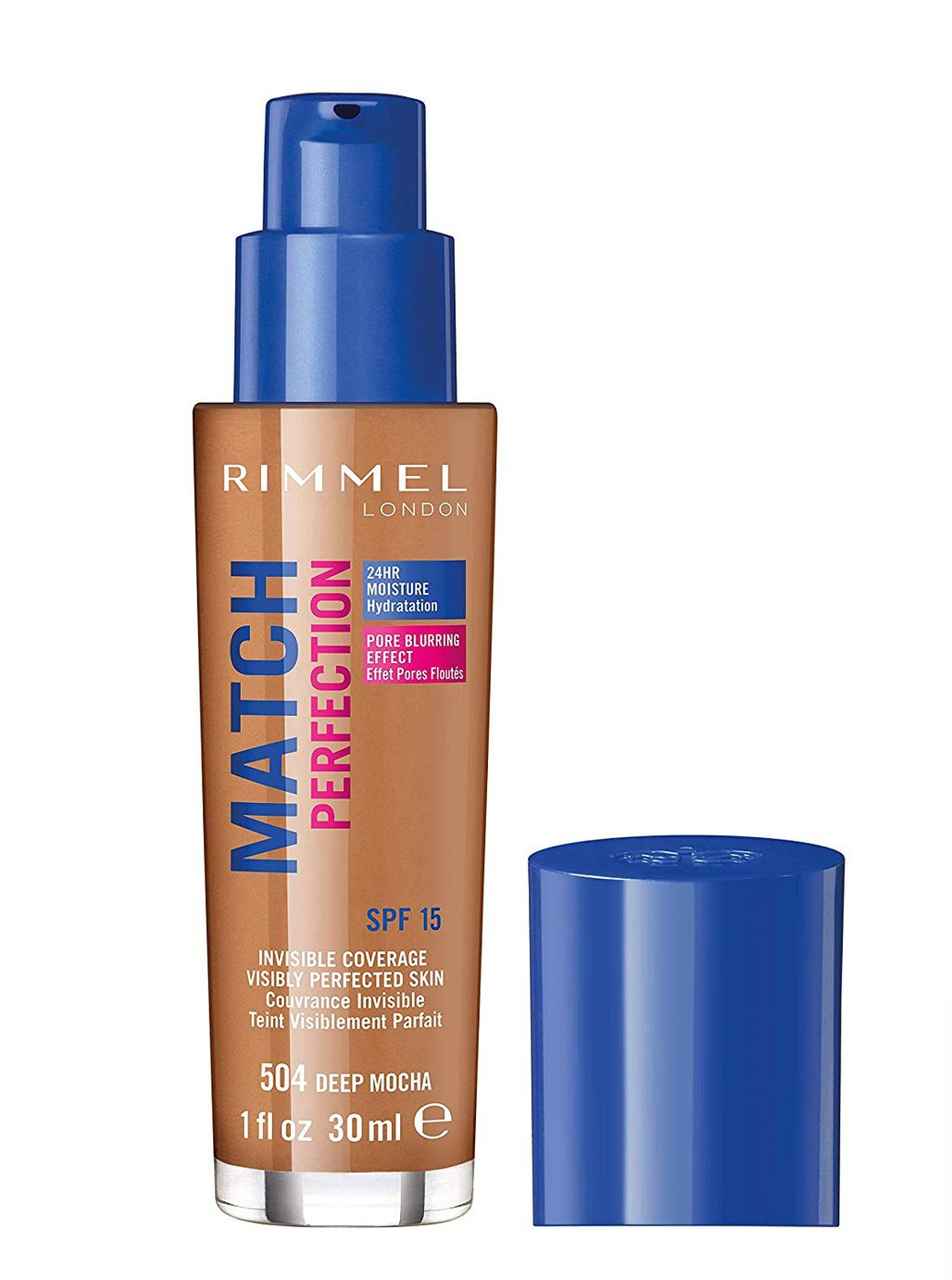 Rimmel Match Perfection Foundation - Deep Mocha