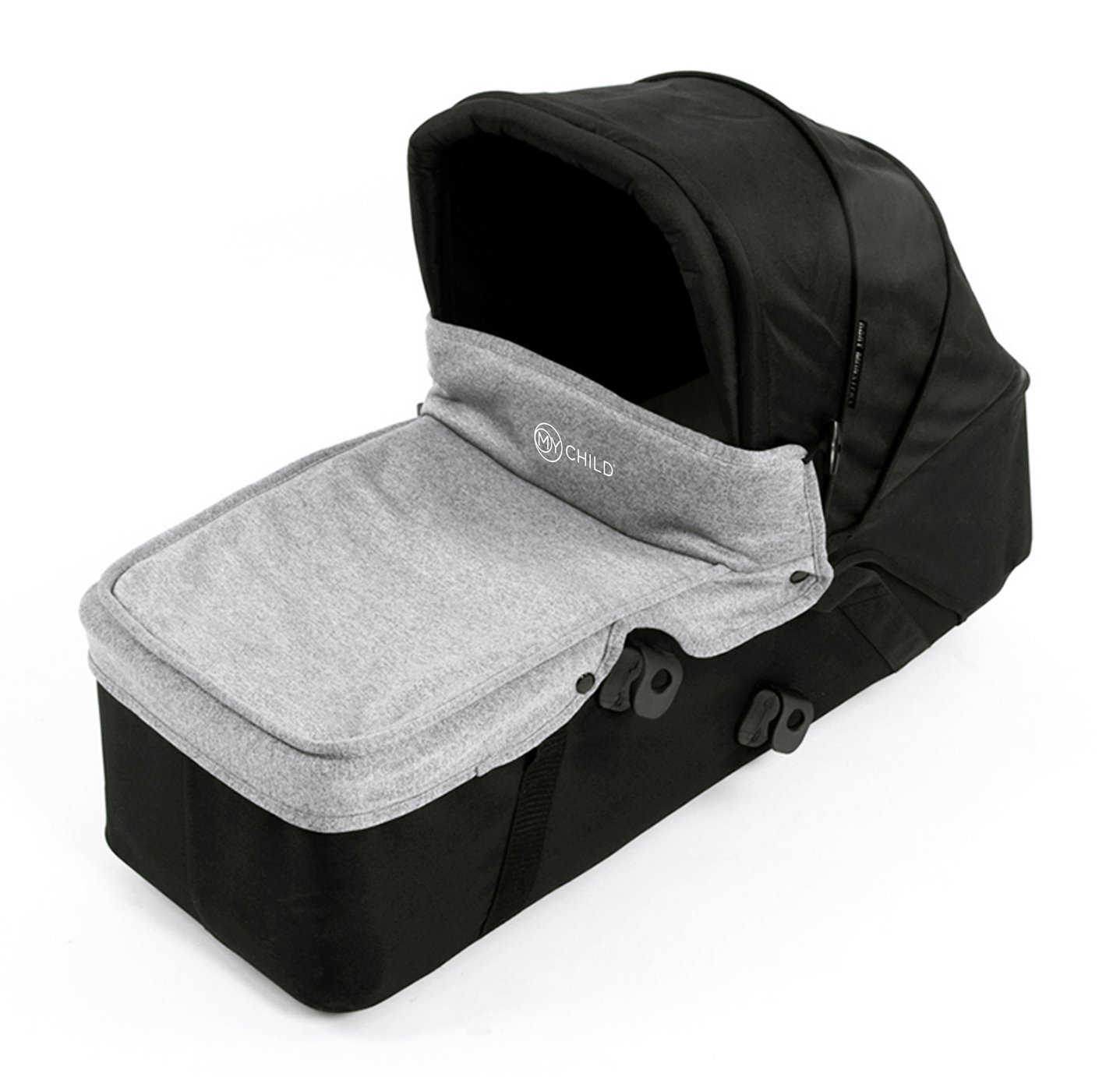 MyChild Easy Twin Second Carrycot - Grey