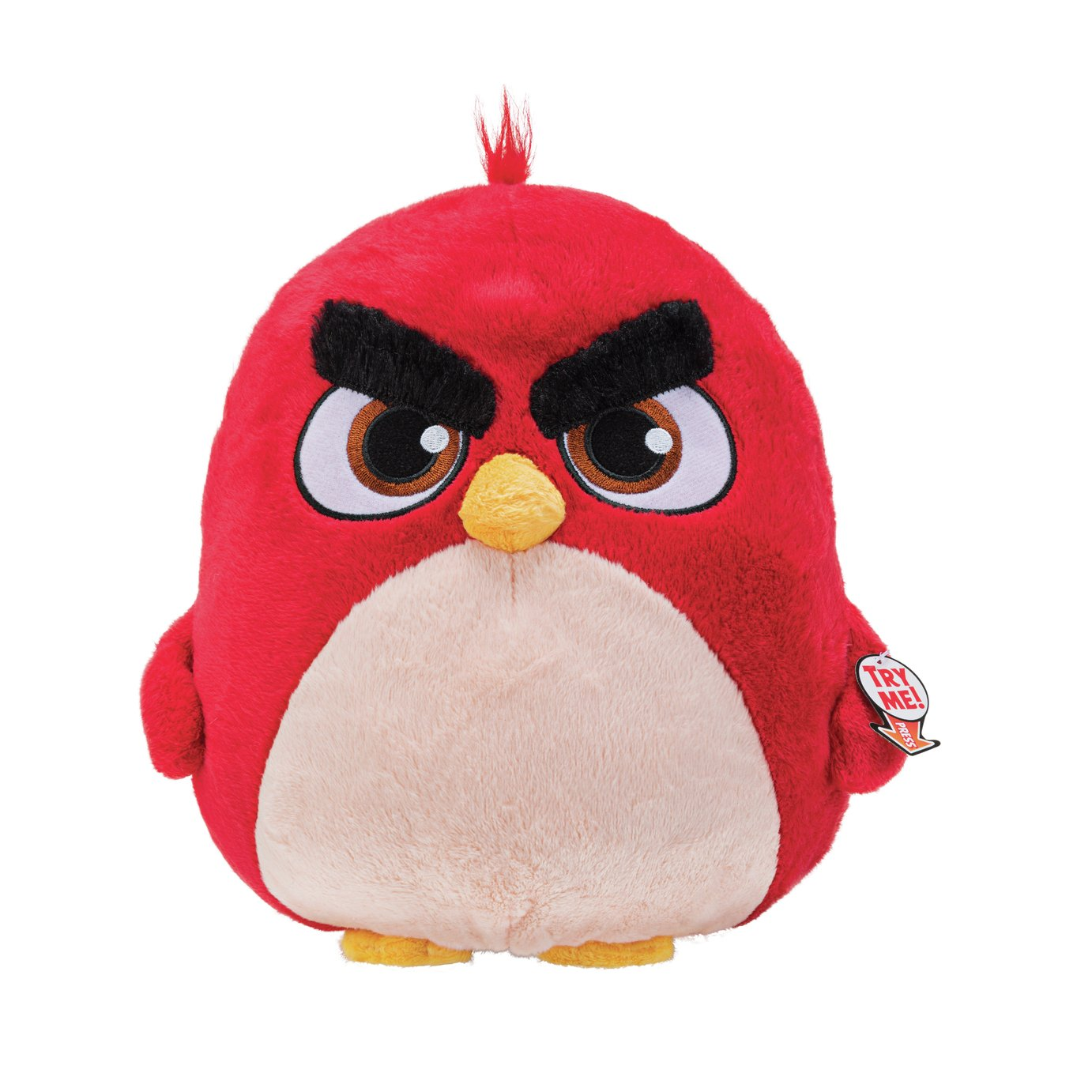 Angry Birds Large Red Soft Toy