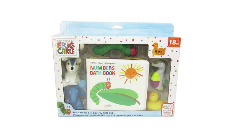 World of Eric Carle Very Hungry Caterpillar Bath Gift Set