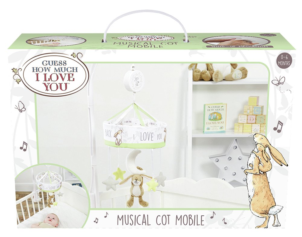 Guess How Much I Love You Musical Cot Mobile