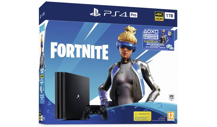 Buy Sony PS4 Pro 1TB Console & Fortnite Neo Versa Bundle | PS4 consoles |  Argos