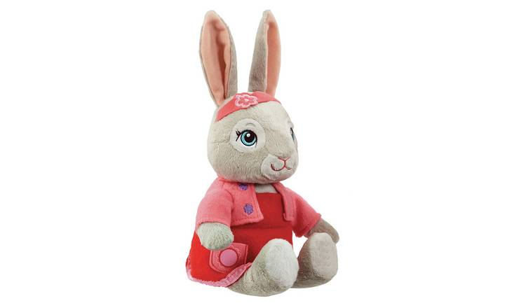 Beatrix Potter Peter Rabbit Talking Lily TV 24cm Soft Toy