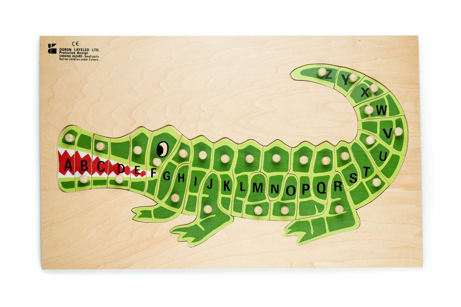 Dorlon Layeled ABC Alligator Puzzle