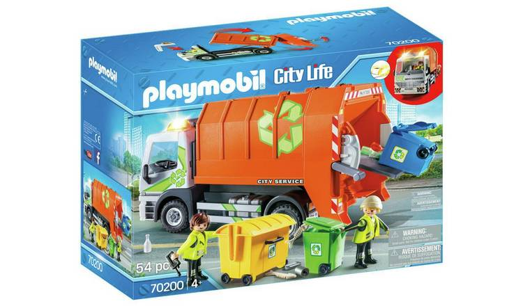 Playmobil 70200 City Life Recycling Truck